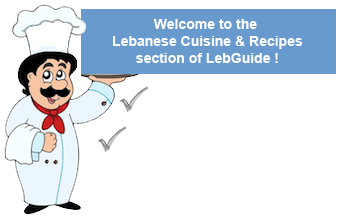 Lebanese recipes lebanese cuisine arabic food recipes lebguide cuisine from the middle east is known worldwide for its richness and goodness in lebanon forumfinder Image collections