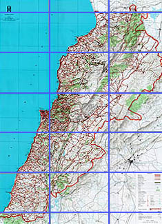 Maps Of Lebanon LebGuidecom Lebanon Guide - Lebanon map